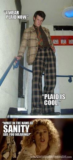 Snazzy looking chap you've got there. #DoctorWho