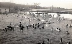 The old Swimming Hole Vintage Photo Download by PhotographyByDyana, $3.00