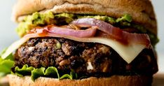 Best Black Bean Burgers The post Best Black Bean Burgers appeared first on Dess. Best Black Bean Burgers The post Best Black Bean Burgers appeared first on Dessert Platinum. Burger Recipes, Veggie Recipes, Vegetarian Recipes, Veggie Meals, Beef Recipes, Yummy Recipes, Dinner Recipes, Yummy Food, Vegetarian