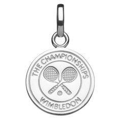 Women Charms All, Wimbledon Crossed Rackets Charm