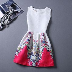 Find More Dresses Information about Summer Style 2015 Lady Dress Flower Women Maxi Evening Party Casual Vintage Dresses Printing Sleeveless Vestidos De Festa Dress,High Quality dress white dress,China dress sun Suppliers, Cheap dresses prom dress from 9.8$ Beauty Girl Happy Store on Aliexpress.com