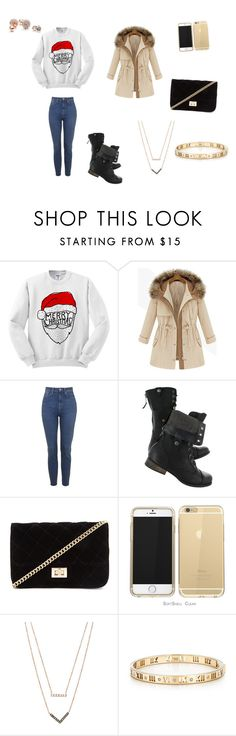 """""""Christmas outfit#1"""" by lifestyle2simple ❤ liked on Polyvore featuring Forever 21, Michael Kors, Tiffany & Co. and GUESS"""