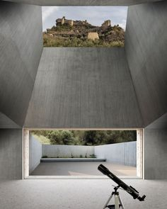 Observatory houses by Lapo Ruffi Museum Architecture, Architecture Details, Landscape Architecture, Interior Architecture, Landscape Design, Japan Architecture, Exterior Paint, Interior And Exterior, Interior Design