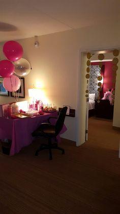 16th birthday hotel slumber party Party Ideas