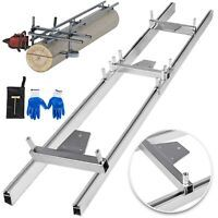 ChainsawRail Mill Guide System 9ft 2.7M 4 Reinforce Saw Mill Gloves Log Wood
