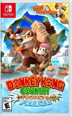 Donkey Kong Country: Tropical Freeze Switch boxart - Nintendo Everything