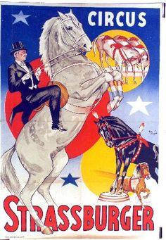 Tom Manders Circus Strassburger Magic Show, Circus Circus, Sideshow, Dory, Comic Books, Posters, Comics, Artwork, Image