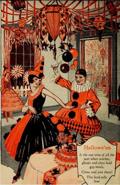 My Pretty Baby Cried She Was a Bird: Dennison's Bogie Book (Vintage Halloween Decorations, 1920)