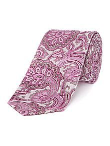 Large paisley tie ted baker
