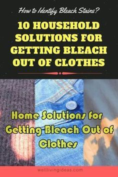 How to remove bleach stains from clothes. Discover the best ways to deal with bleach stains on clothes here. Deep Cleaning Tips, House Cleaning Tips, Spring Cleaning, Cleaning Hacks, Cleaning Products, All You Need Is, Clean Baking Pans, Cleaning Painted Walls, Glass Cooktop