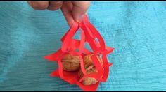 Origami facile : Sac filet