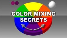Color mixing rules banner
