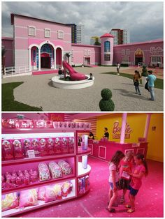 Barbie Dreamhouse Experience in Berlin, Germany 17 Toy Stores That Will Change Your Kids' Lives Barbie Store, Barbie Doll House, Barbie Life, Barbie Dream House, Barbie World, Barbie And Ken, Barbie Birthday, Everything Pink, Toy Store