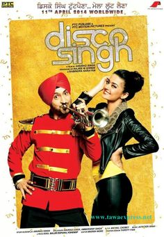 Disco Singh Movie Theatrical Trailer   Disco Singh Movie Details Starring: Diljit Dosanjh, Surveen Chawla, Manoj Pahwa, Upasna Singh, Apoorva ...