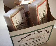 4 Pack of Beer Soap-Natural Soap-Gifts for Men-Christmas Gifts for Men-Best Gifts for Men