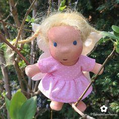 Pflanzenfaerberin*Isle of Fae Dolls - This is Mini Fae Doll Tula (12 cm, 5 in. small)