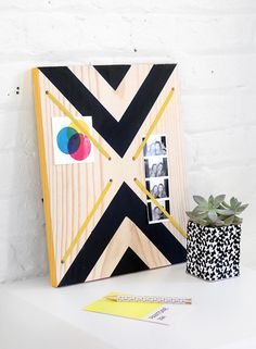 DIY: graphic print m...