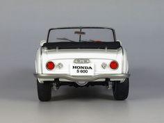 Honda S600 1/24 Car Kits, Car Museum, Honda S, Model Cars Kits, Cute Cars, Small Cars, Scale, Vehicles, Design