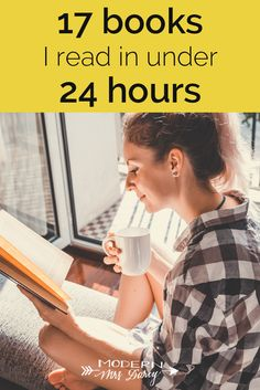 I polished off each of these 17 books in 24 hours or less, because I couldn't put them down