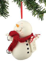 Dept 56 Snowpinion Get Jingly With Me Ornament