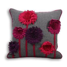 Discover thousands of images about Paoletti Maisie Cushion Funky Cushions, Cushions To Make, Throw Cushions, Felt Cushion, Diy Cushion, Cushion Covers, Sewing Pillows, Diy Pillows, Decorative Pillows