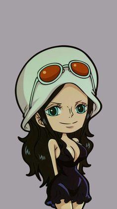 Anime Echii, Manga Anime One Piece, Anime Comics, One Piece Bounties, Cyberpunk Anime, One Piece Luffy, Nico Robin, Best Waifu, Cute Chibi