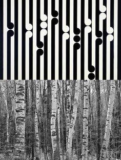 Gordon Walters birch stand. Maori Symbols, New Zealand Art, Nz Art, Maori Art, Kiwiana, Artist Art, Fences, Art Images, Birch