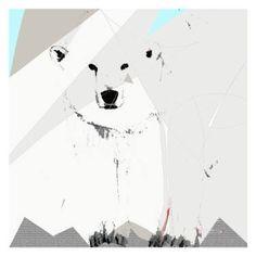 "Saatchi Art Artist Simone Guimaraes; Drawing, ""Polar Bear, Limited Edition 1 of…"