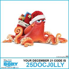 Get ready for Christmas with your favorite holiday movies! Disney Movie Club, Disney Movies, Disney Characters, Disney Movie Rewards Codes, 25 Days Of Christmas, Christmas 2016, Xmas, Holiday Movie, Finding Dory