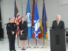September - U.S. Senators Susan Collins and Angus King joined GSA and Customs and Border Protection officials in a virtual ribbon cutting to officially open the state-of-the-art land port of entry facility in Van Buren, Maine.