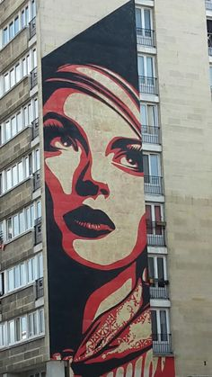 The revolutionary face in 12th district of Paris
