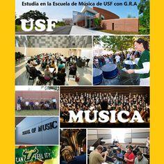 #USF #Tampa #Universidad #College #Música #Music #Fun #Bulls #Sports #College #Students #UniversityofSouthFlorida   #GRAcademic    www.intercambioestudiantil.com - info@intercambioestudiantil.com