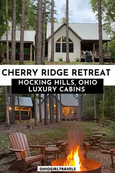 Looking for a luxury cabin in Hocking Hills, Ohio? Cherry Ridge Retreat has the perfect cabins for a weekend getaway for couples and families. Hocking Hills Ohio | Ohio Cabins | Hocking Hills Cabins | Hocking Hills Ohio Cabins Romantic | Romantic Getaways In Ohio With Hot Tubs | Romantic Luxury Cabins in Ohio | Honeymoon Cabins Hocking Hills Ohio | Romantic Cabins Ohio | Luxury Cabins Ohio #HockingHillsOhio #HockingHills #LuxuryCabins #Ohio Ohio Destinations, Hocking Hills Cabins, Weekend Getaways For Couples, Honeymoon Cabin, Luxury Cabin, Getaway Cabins, The Perfect Getaway, House On The Rock, Romantic Getaways