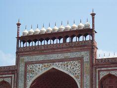 Taj Mahal entrance