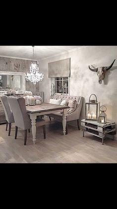 Elsker stilen Dining Area, Dining Room, Dining Table, Furniture, Home Decor, Decoration Home, Room Decor, Dinner Table, Home Furnishings