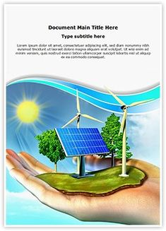 Renewable Energy Word Document Template is one of the best Word Document Templates by EditableTemplates.com. #EditableTemplates #PowerPoint #templates Forecasting #Global Communications #Globe #Leadership #Communication #Alternative Energy #Earth #Eolic #Environmental Conservation #Production #Reforestation #Environment #Ecological #Different #Landscape #Global Village #Opportunity #Care #Pollution #Glowing #Energy #Light #Education #Panel