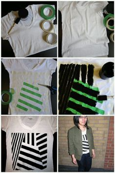 Painted tshirt.. I'd like to do this to the whole shirt