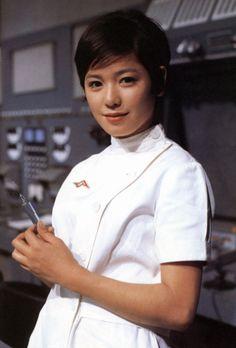 菱見 百合子さん(現 ひし美ゆり子)『友里アンヌ(ウルトラセブン)』