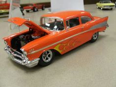 Scale Model Cars   1957 Chevy