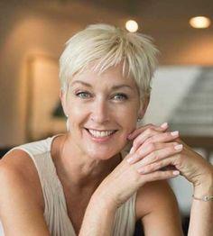 6.Short Hair For Women Over 50
