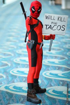 Deadpool, photo by Erik Estrada.                            I.........................Speechless. xD