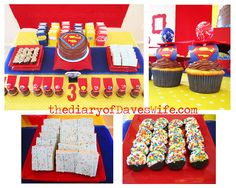 Superman birthday Party:D