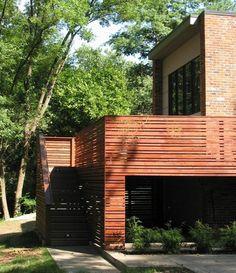 garde-corps terrasse en bois pour une protection maximale