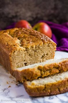 Apple Cinnamon Bread - Incredibly moist and delicious cinnamon-spiced bread studded with juicy apple chunks!