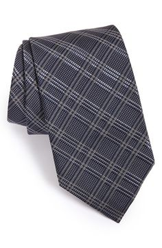 49ebdf637e3d David Donahue Plaid Silk Tie Tie And Pocket Square, Pocket Squares, Silk  Ties,