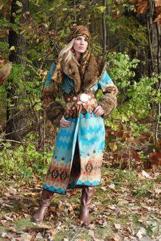 Great Camps coat by Tasha Polizzi Fall 2012
