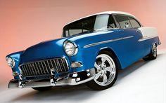 1956 Chevrolet Bel Air very unusual color combination