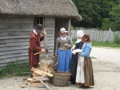 Plimoth Plantation in Plymouth Plantation, Massachusetts.