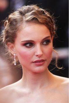 Peinados de fiesta recogidos primavera 2013 - Natalie Portman