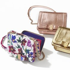 425635845843 Whether it's in metallic or a vibrant floral print, the Vara Rainbow hand  bag remains